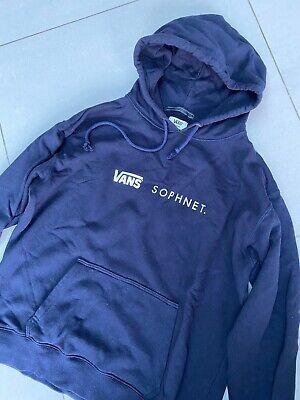 USED VANS x Sophnet SOPH Hoodie Sweater Jumper Sweatshirt Large L 100% Authentic