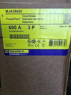 Mja36600 Squre D Breakers New