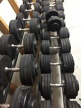 Fully commercial Australian barbell co Dumbbells 15kg to 52.5 kg Granville Parramatta Area Preview