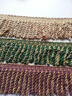 Design Gold Trim (Beige Green Purple Gold Trim Trimming Bullion Tassel Fringe Interior Design)