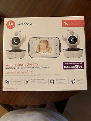 Motorola Digital Video Baby Monitor With 2 Camera