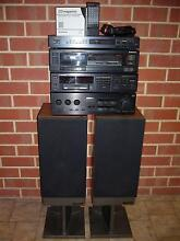 Pioneer Stereo Components & Mission 737 Renaissance Speakers Highbury Tea Tree Gully Area Preview