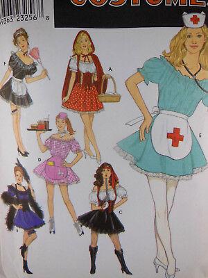 Simplicity 8851Costume Pattern Nurse Maid Pirate EASY Sz 14 16 18 20 Uncut folde - Pirate Costume Easy
