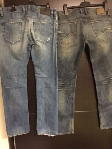2 jeans diesel regular slim straight safado t.31 et t.32 l.32