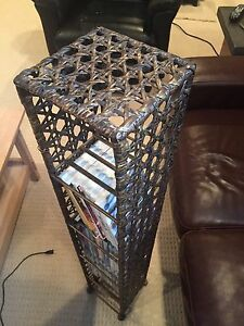 Wicker Movie/Video Game Storage Tower -Reduced Price!!