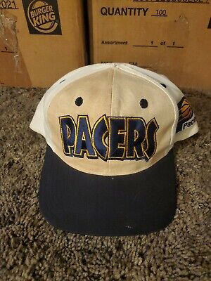 Used Vintage Indiana Pacers Sports Specialties Snapback Hat NBA Pro Line