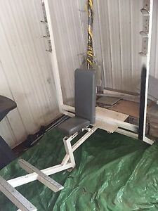 Commercial gym benches