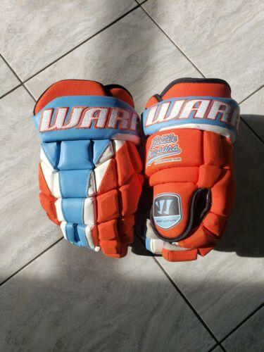 "14"" Little Caesars Warrior Bar Down pro stock hockey gloves"