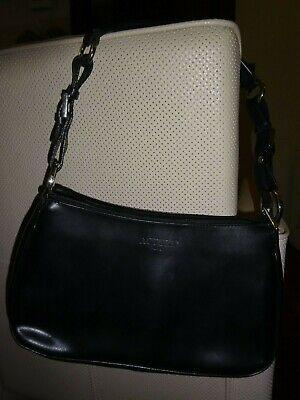 Petit sac en cuir noir Actuel Paris très bon état