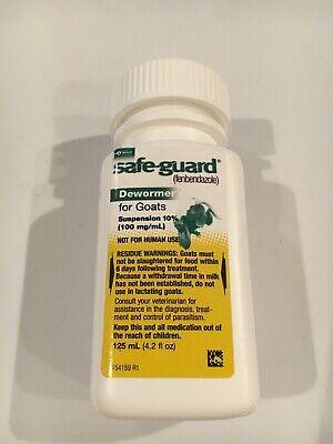 Merick Safeguard Goat Dewormer 125ml Fenbendazole Exp 123 Free Shipping