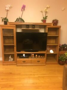 Tv stand and shelve unit