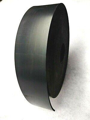 Neoprene Sheet Rubber Solid Strip 18 Thk X 2 W X 5-foot L 60 Duro Std