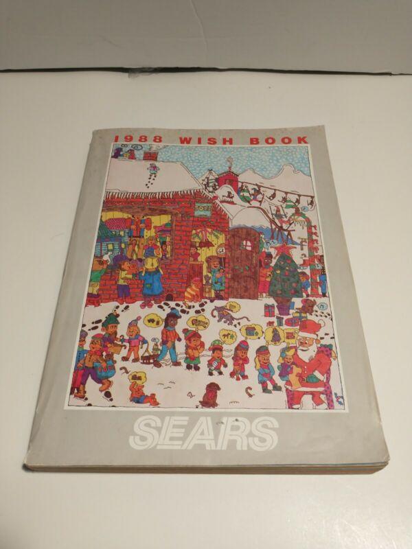 1988 Sears Wish Book Christmas Catalog Toys Nintendo Transformers GI Joe