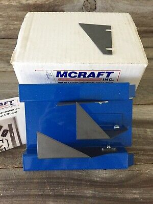 Amcraft 1087 Blue 1-12 Kerfing Tool End Cut-off For Duct Board