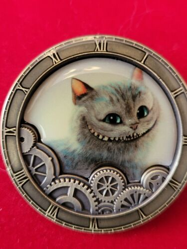 Disney Pin 2016 Limited Release Alice Through The Looking Glass Cheshire Cat