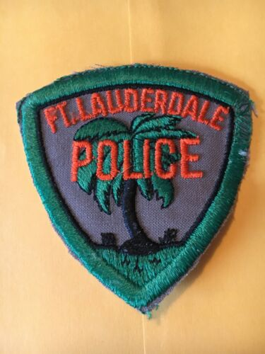 Ft. Lauderdale Florida Vintage Police Patch