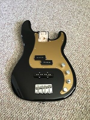 Fender Deluxe Active Precision Bass Special loaded body