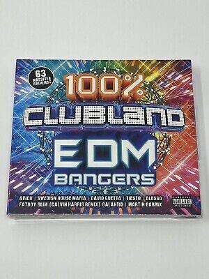 100% CLUBLAND EDM BANGERS - VARIOUS ARTISTS - 3 CD BOX SET ALBUM - NEW & SEALED