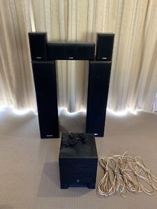 US Audio 5.1 speaker set up with Yamaha sub Chisholm Tuggeranong Preview