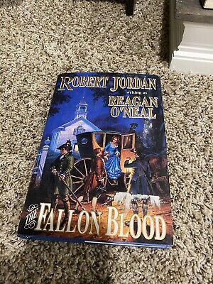 1st PRINT The Fallon Blood by Reagan O'Neal (1995, Hardcover) Robert Jordan