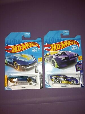 2018 Hot Wheels 50th Regular Treasure  Hunt  Case B And Case L Lot Of 2
