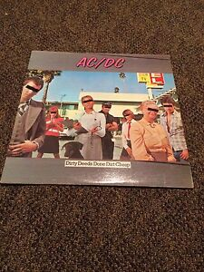 AC/DC Record Album - Dirty Deeds Done Dirt Cheap
