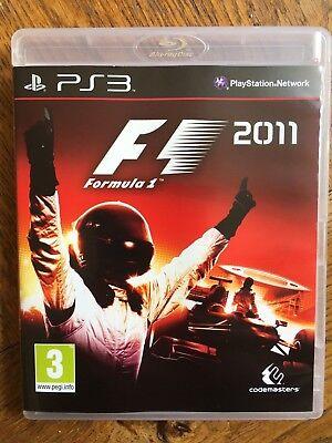 F1 Formula 1 2011 (unsealed) - PS3 UK Release New! segunda mano  Embacar hacia Argentina