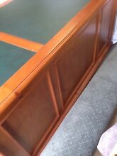 Desk executive with leather inlay top Mount Martha Mornington Peninsula Preview