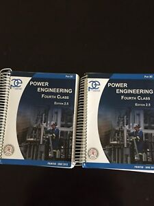 4th class Power Engineering books for sale!!!