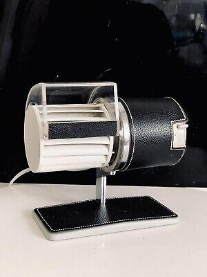 BRAUN TISCHVENTILATOR HL1 DESIGN RAMS Vintage Banker Retro Space Age Bauhaus