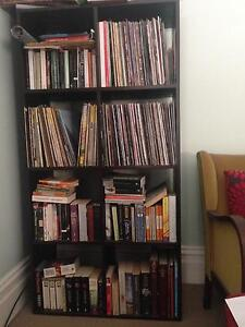 Easy to move open backed bookcase Stanmore Marrickville Area Preview