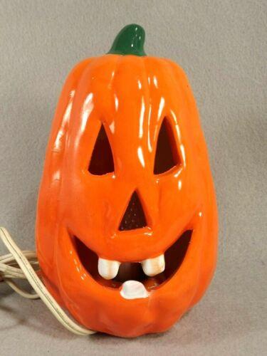 Artmark Jack O Lantern Halloween Flicker Light Pumpkin 1988 Item 2405 Box
