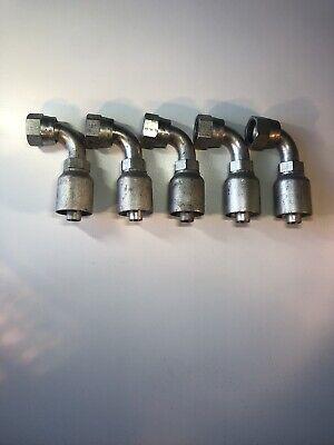 13943-10-8 Parker Hydraulic Hose Fittings Dash 10 Jic37 Female 12 Hose 5 Pack