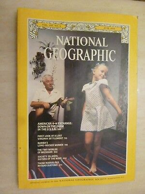 National Geographic- BURMA'S LONG NECKED WOMEN - JUNE 1979