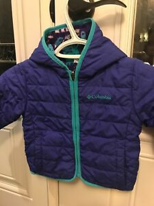 Size 12-18 months. Columbia reversible jacket