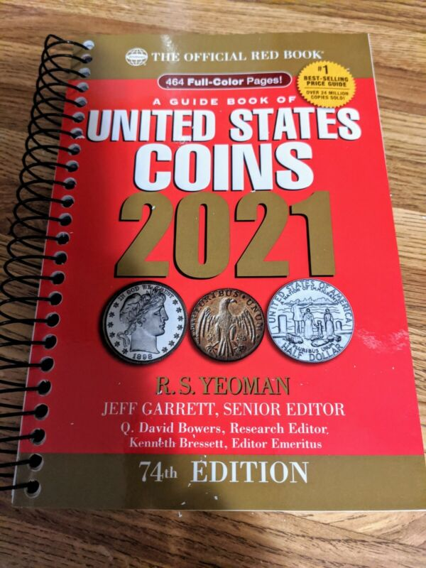 New 2021 Whitman Red Spiral Coin Book