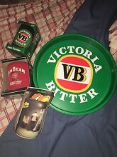 SET of BEER TRAY and STUBBIE HOLDERS & DRNK CUPS Albion Brisbane North East Preview