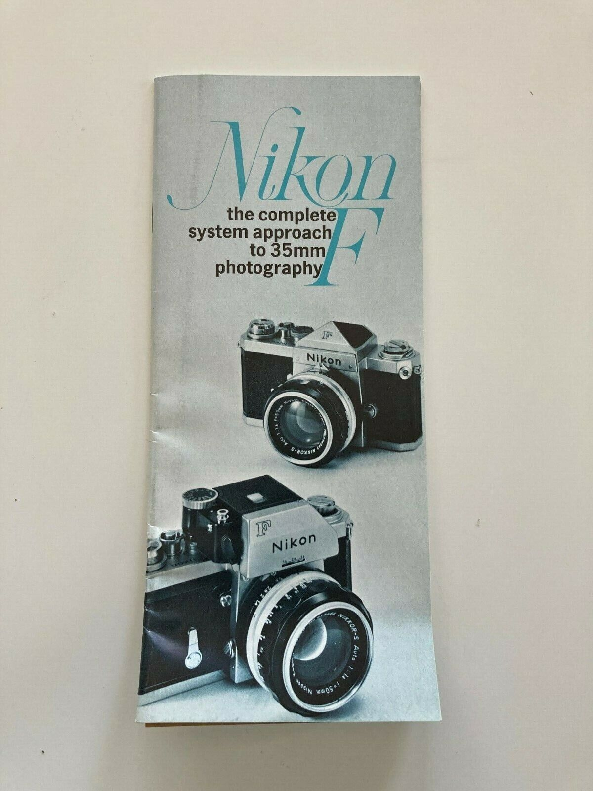 1960 s Nikon F Complete System Approach To 35mm Photography Product Brochure - $10.00
