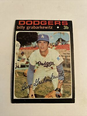 1971 TOPPS #85 BILLY GRABARKEWITZ LOS ANGELES DODGERS *FREE SHIPPING*