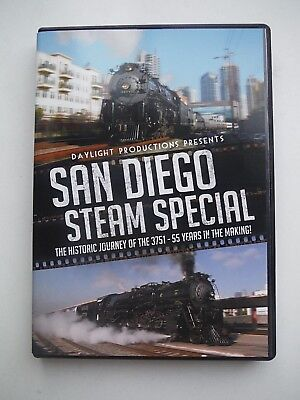 Daylight Productions Presents DVD Train Railroad: SAN DIEGO STEAM SPECIAL_3751