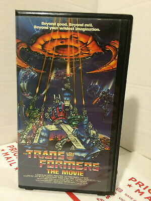 Vintage Transformers The Movie VHS 1999, Clamshell by Kid Rhino Pre-Owned