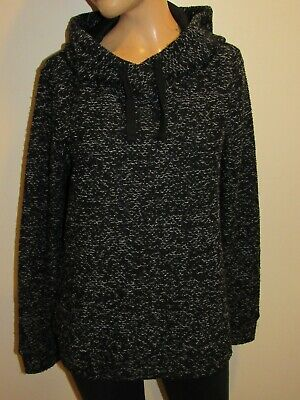 Fabletics Womens Black Pullover Hoodie Size S