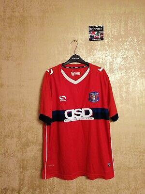 Carlisle United FC Away Fußballtrikot Trikot Jersey Shirt 2016/2017 Sondico L image