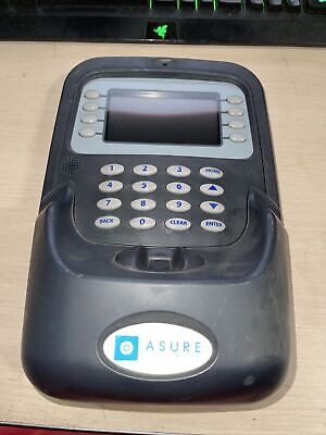 Asure Software Adi-p400l Durable Biometric Employee Time Clock No Adapters