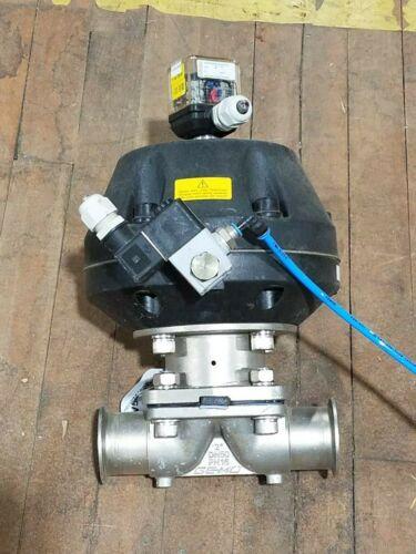 GEMU 687 50D88C15E1 Sanitary Diaphragm Valve 5-6 Bar Industrial Surplus