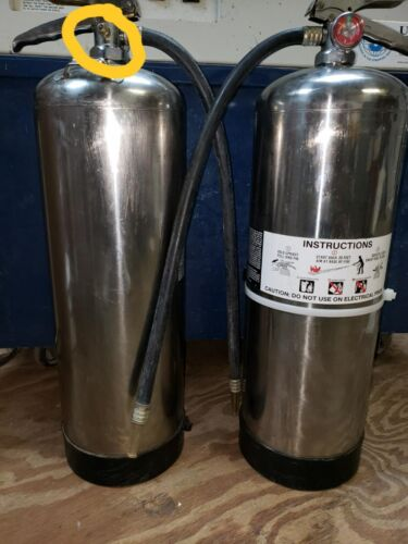 Water Fire Extinguisher, 2.5 gal, **w/HYDRO TEST*** WOW!!! LOOK AT ALL THE XTRAS