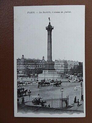 Paris La Bastille Colonne de Juillet.