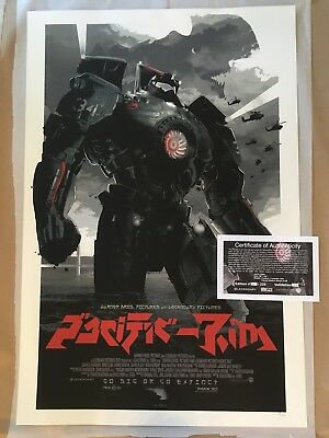 Pacific Rim Poster By Gabz  Odd City  Not Mondo     38 255