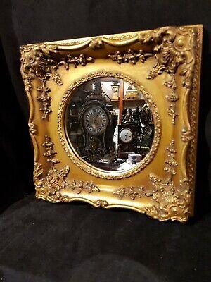 Antico specchio da parete a legno dorato, epoca primi del '900