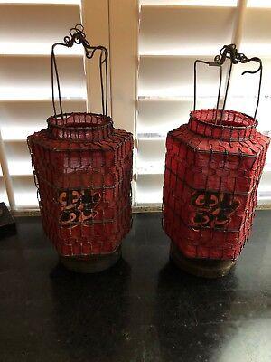 Vintage or Antique Asian Lanterns - Asian Lanterns